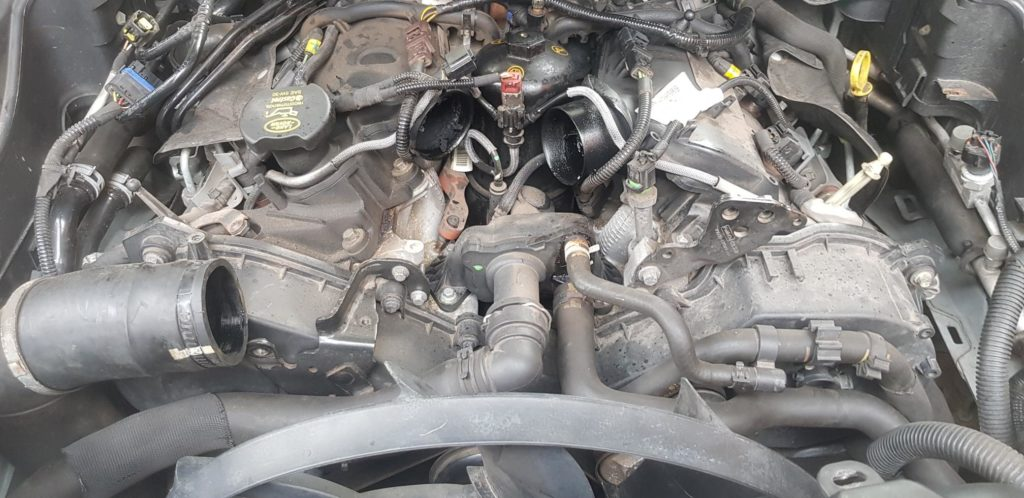 Land Rover 2.7 TDV6 egr blank with remap for all model years